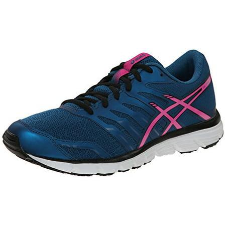 92c3e51d2a ASICS - ASICS Women's Gel-Zaraca 4 Running Shoe, Mosaic Blue/Pink Glow/Onyx,  10 M US - Walmart.com