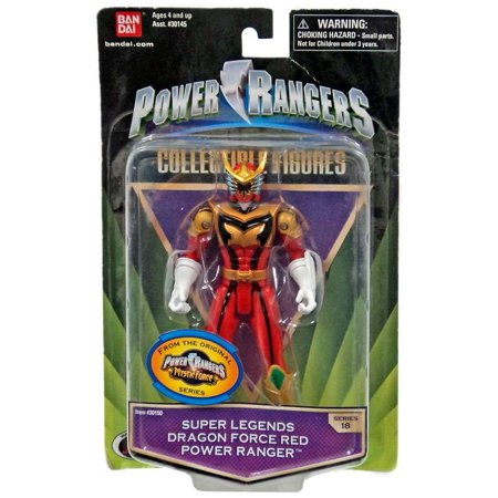 Red Dragon Boat - Power Rangers Collectible Figures Super Legends Dragon Force Red Power Ranger Action Figure