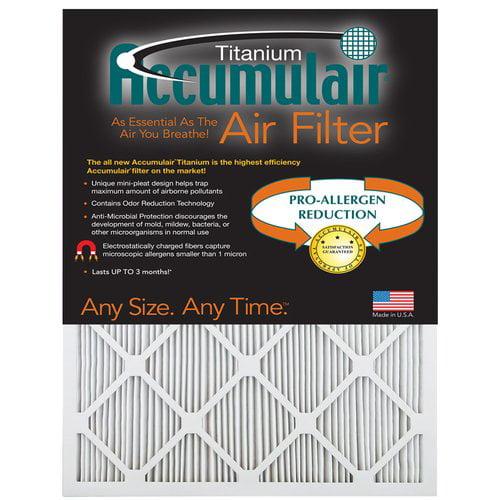 Accumulair Titanium Air Filter (Set of 4)