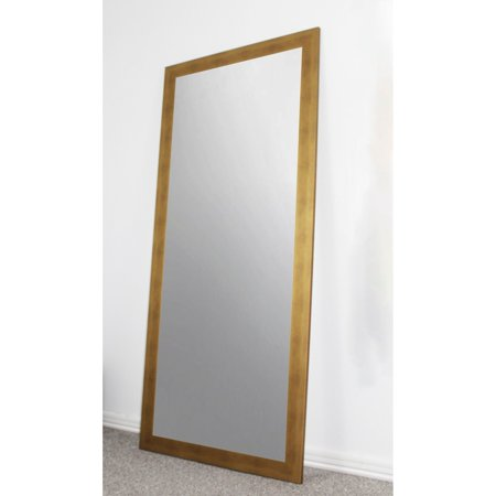 Rayne Mirrors U S Made Full Body Floor Length Mirror Gold