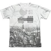 Woodstock Crowd Mens Sublimation Shirt