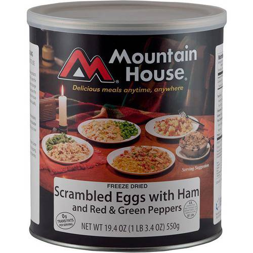 Mountain House Scrambled Eggs with Ham Can