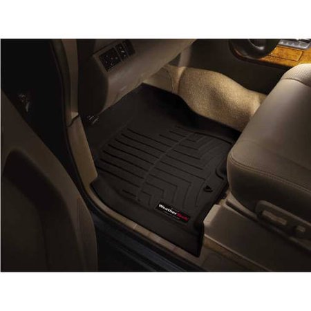 WeatherTech Custom Fit Front FloorLiner for Select Cadillac/GMC/Chevrolet Models (Weathertech Custom Fit Sunroof)