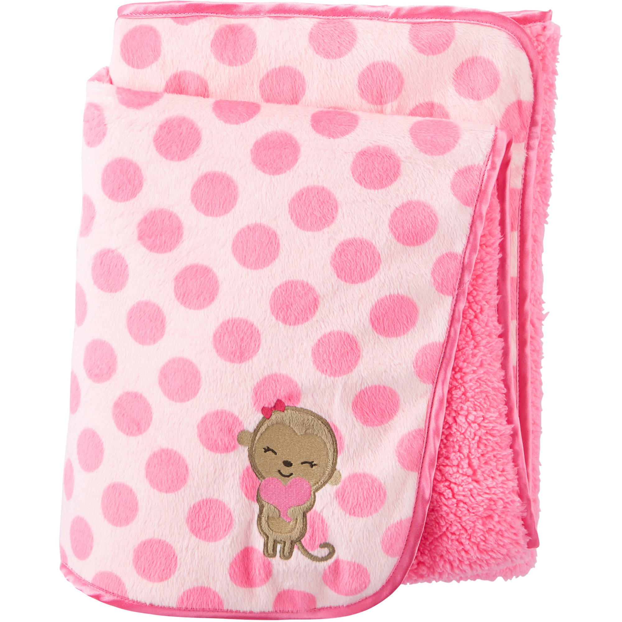Child Of Mine by Carter's Newborn Baby Girl Valboa Blanket