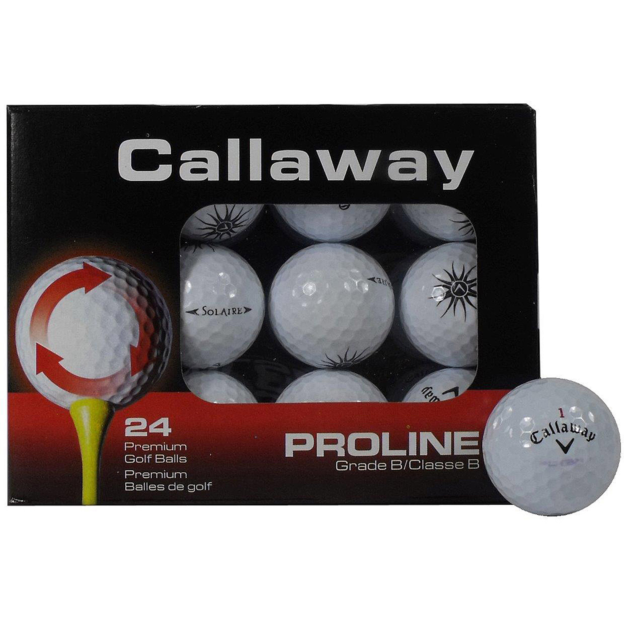 Callaway Value Mix Recycled & Used Golf Balls