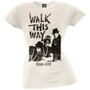 Run DMC - Walk This Way Juniors T-Shirt - Large