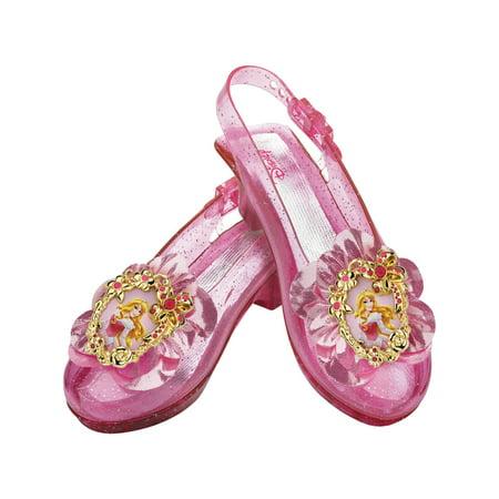 Disney Aurora Sparkle Shoes Child Halloween Accessory (Disney Halloween Nails)