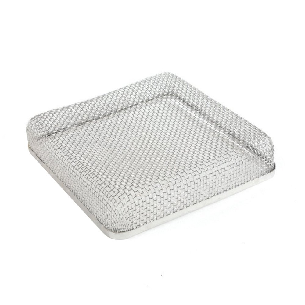 ALEKO Stainless Steel RV Bug Screen - 6.75 x 6.75 x 1.3 Inches