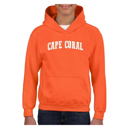Cape Coral Youth Hoodie Hooded Sweatshirt