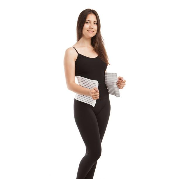 Abdominal Binder Postpartum Belly Wrap: GABRIALLA Breathable Abdomen Slimming Postpartum Belly