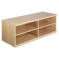 Low Storage Cabinet, 17.75 in. x 47.25 in. x 16.5 in.,Latte