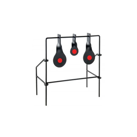 Metallic Spinner Target Medium Triple Target for Air Guns & .22 Rifle by Allen Company (Target For Gun)