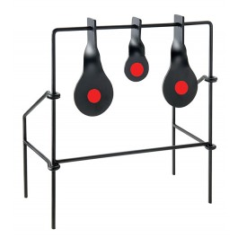 Metallic Spinner Target Medium Triple Target for Air Guns & .22 Rifle by Allen Company