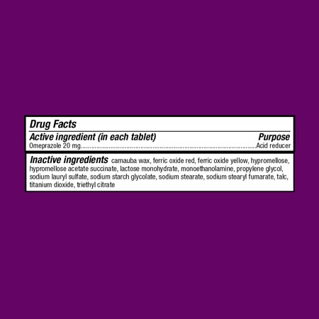 Best (2 Pack) Equate Acid Reducer Omeprazole Delayed Release Tablets, 20 mg, 42 Ct, 3 Pk - Treat Frequent Heartburn deal
