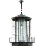 "28.5""W Lighthouse Lantern Pendant 66801"