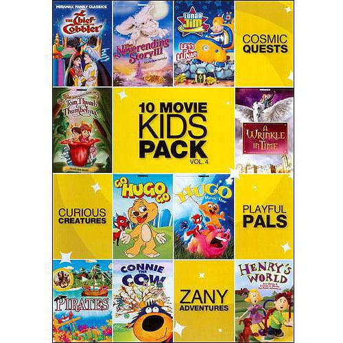 10 Movie Kids Pack, Vol. 4
