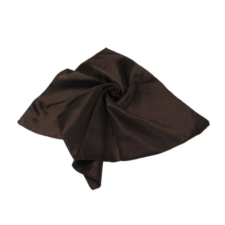 Elegant Small Silk Feel Solid Color Satin Square Scarf 20