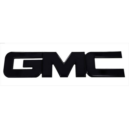 96501K Billet Emblem - GMC 2007-2011 - Black - image 1 of 1