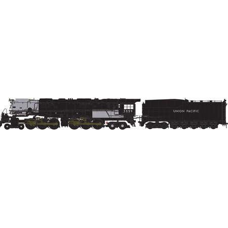 Athearn 22929 N Union Pacific 4-6-6-4 with DCC & Sound Co...