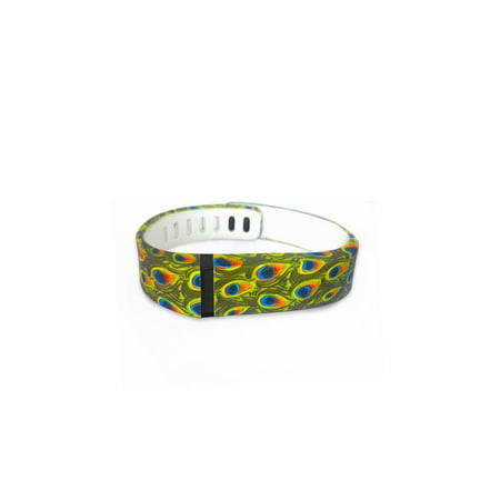 Fit Bit Flex Replacement Band - Peacock Design - Small ()