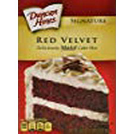 Duncan Hines Moist Deluxe Cake Mix, Red Velvet 16.5 Oz (Pack of 2)](Red Velvet Cake Halloween)