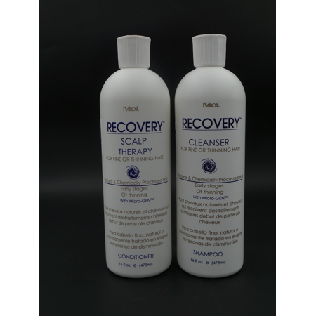 Nairobi Recovery Cleanser Shampoo, 16 oz & Scalp Therapy Conditioner, 16 oz Set