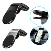 EEEKit Cell Phone Holder, Magnetic Air Vent Car Phone Mount, Fits All Smartphones - iPhone 11/11 Pro X, XR, XS Max, 8, 7 | Galaxy S10, S9, S8, Note 9 | LG | Luxury Vent Phone Holder