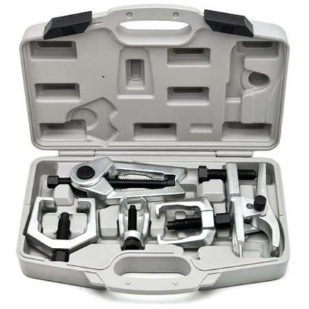 Seperator Kit (Biltek 6pc Front End Service Tool Kit Ball Joint Separator Pitman Arm Tie Rod Puller )