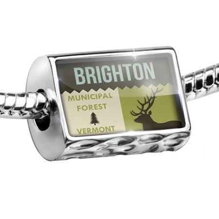 Bead National US Forest Brighton Municipal Forest Charm Fits All European Bracelets - Brighton Jewelry Outlet