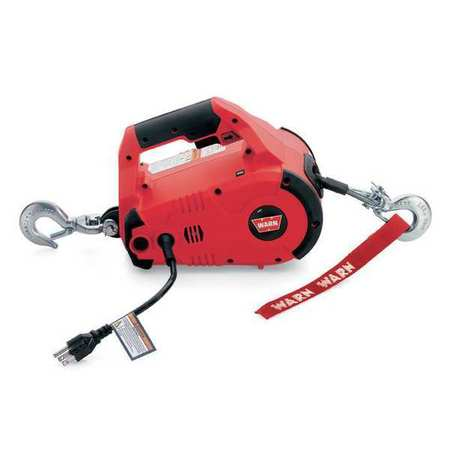 WARN 885000 Portable Electric Winch, HP, 115VAC