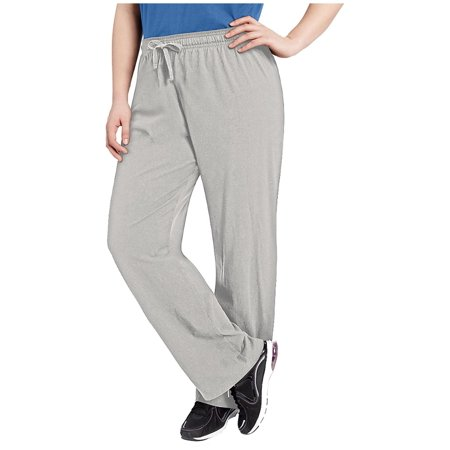88d2cc496109 Champion - Women s Plus Size Jersey Pants - Walmart.com