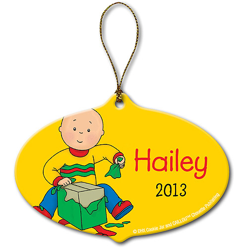 Personalized Caillou Gift Christmas Ornament