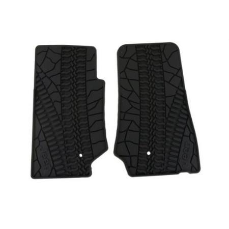 2007-2013 jeep wrangler 2 door slush mats-front set of (Mopar Slush Mats Jeep Wrangler 2 Door)