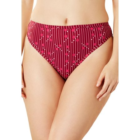Plus Size Microfiber Thong By Comfort Choice
