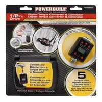 Powerbuilt 940962 1/2 Inch Drive Digital Torque Adapter