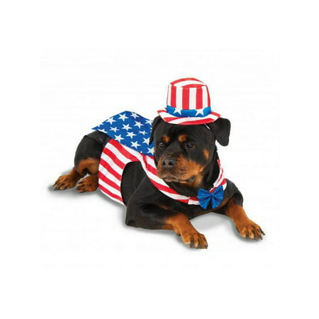 Uncle Sam - Big Dogs' Pet Costume - Sam And Cat Halloween Full