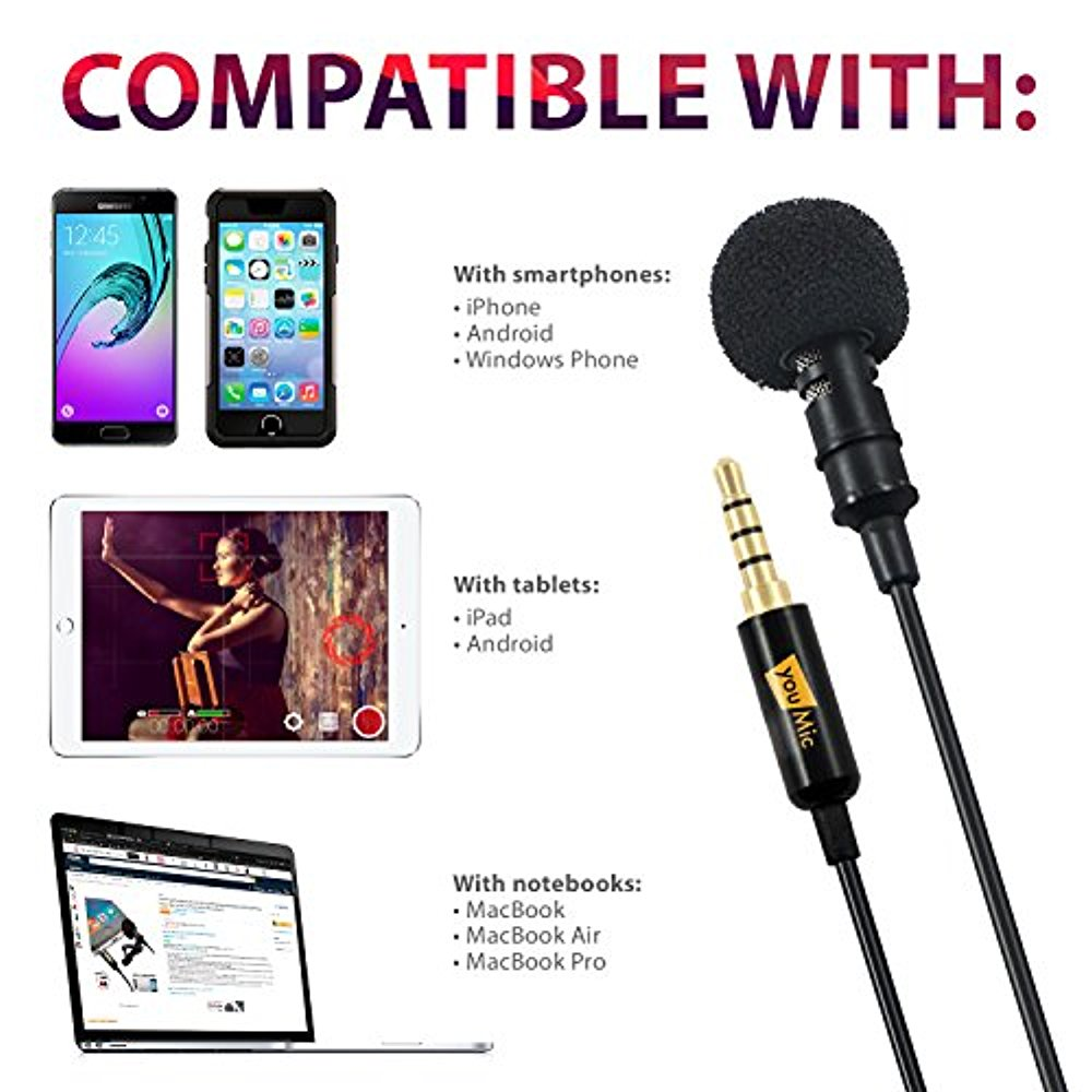 Best Mic for iPhone iPad iPod Android Mac PC Best