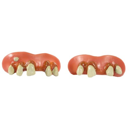 BILLY BOB TEETH - Goofy Toofers 2 Pack - - Halloween Rotten Teeth