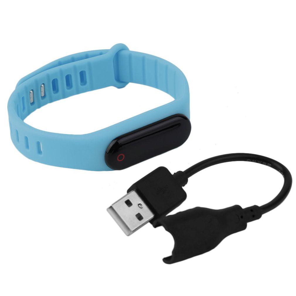 Bluetooth Smart Watch Bracelet Band Health Care Men Women Fitness Tracker by
