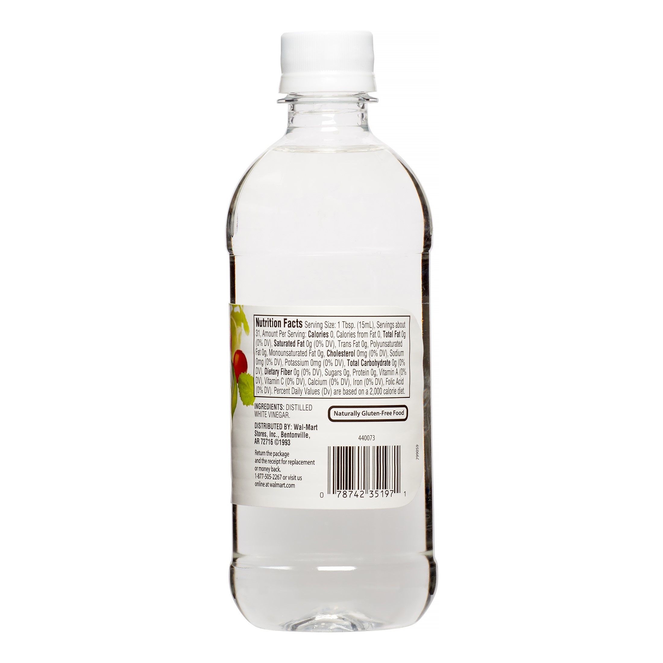 great value distilled white vinegar 16 oz walmart com
