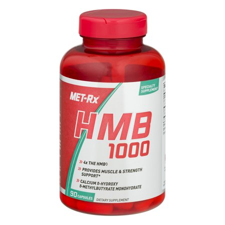 MET-Rx HMB 1000 Capsules, 90 Ct