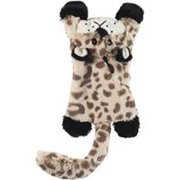"SPOT Plush Skinneeez Flat Cats Jungle Cats 11.5"" Dog Toy"