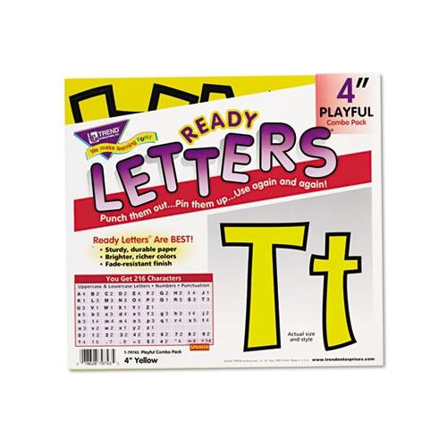 Trend Playful Combo Pack Ready Letters TEPT79743