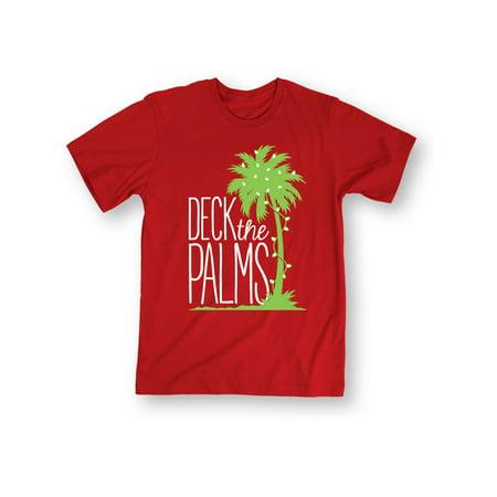 Deck Short - Deck The Palms-ADULT SHORT SLEEVE TEE