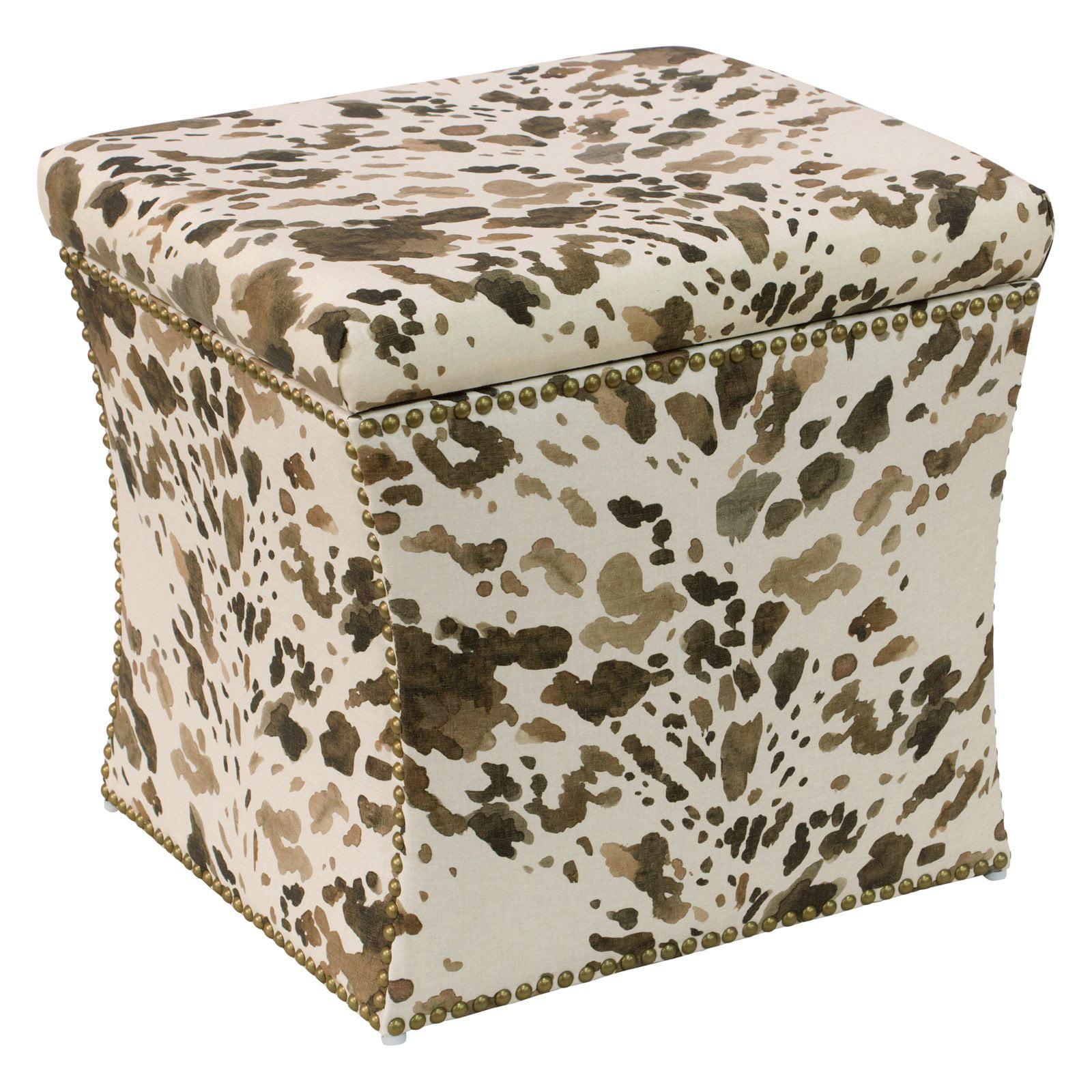 Skyline Furniture Cube Storage Ottoman