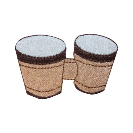 ID 3160 Bongo Drums Patch Play Music Beat Rhythm Embroidered Iron On
