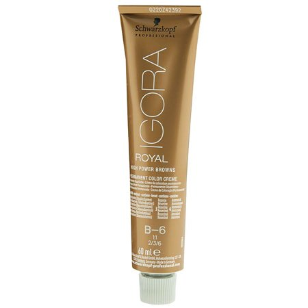 Schwarzkopf Igora Royal High Power Browns Hair Color B-9 Brown
