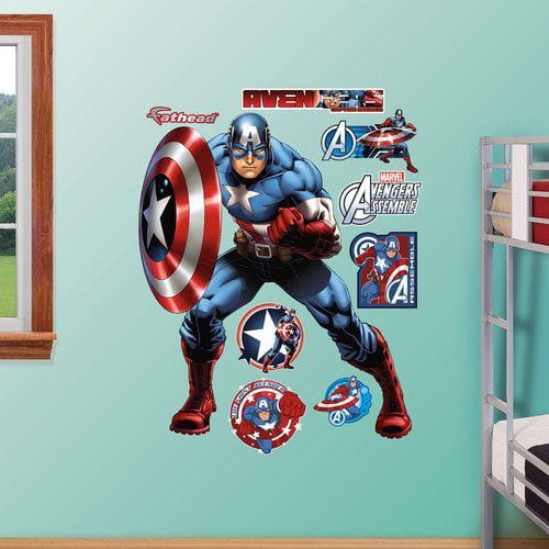 Fathead Captain America Avengers Assemble