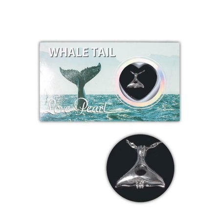 Love Pearl Sea Life WHALE TAIL Necklace Kit, Simulated Pearl in an Oyster
