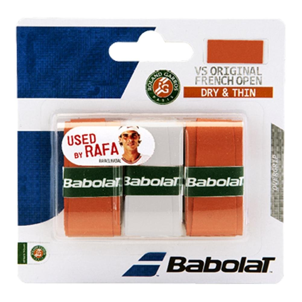 VS Original French Open Grips Red Clay, BABOLAT B653041-266 VS Grip French Open Tennis... by